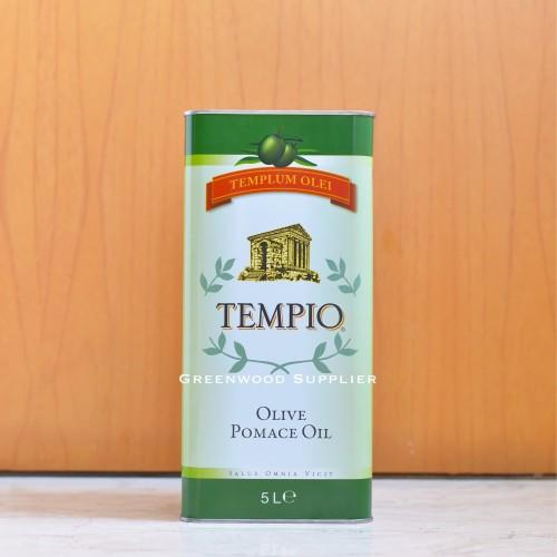 Foto Produk Tempio Pomace Olive Oil - 5 LITER (IMPORT ITALY) dari Greenwood Supplier