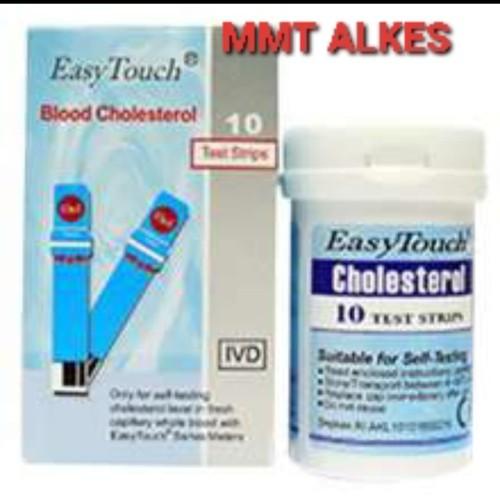 Foto Produk Strip Kolesterol Easy Touch / Cholesterol dari MMTAlkes