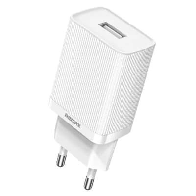 Foto Produk REMAX Single USB Charger RP-U42 - EU WHITE dari Remax Indonesia Official