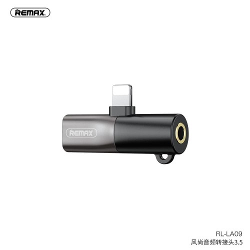 Foto Produk REMAX Fonshion Audio3.5mm & Lightning Jack Splitter RL-LA09 dari Remax Indonesia Official
