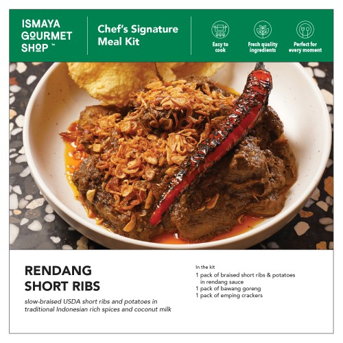 Foto Produk ISMAYA Meal Kit: Rendang Short Ribs dari Ismaya Gourmet Shop