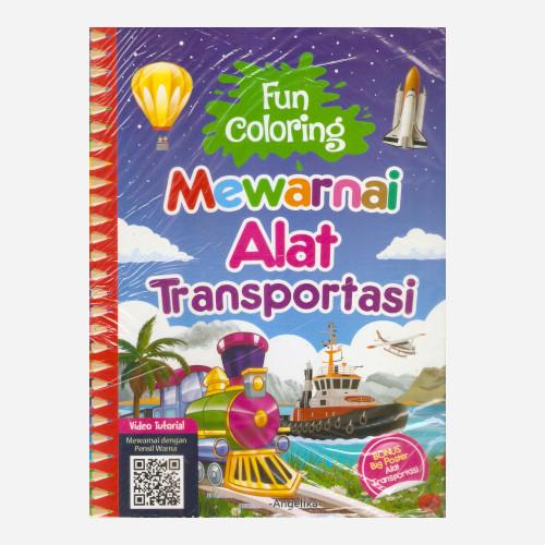 Foto Produk Fun Coloring Mewarnai Alat Transportasi dari Toko Kutu Buku