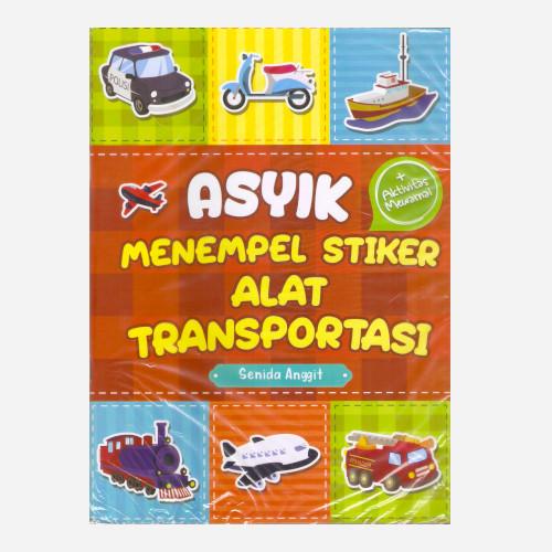 Foto Produk Asyik Menempel Stiker Alat Transportasi dari Toko Kutu Buku