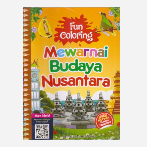 Foto Produk Fun Coloring Mewarnai Budaya Nusantara dari Toko Kutu Buku