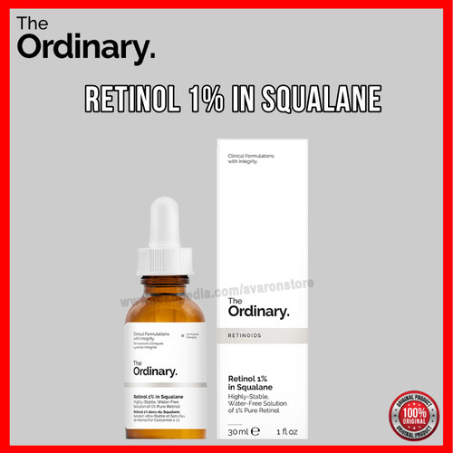 Foto Produk The Ordinary Retinol 1% in Squalane Serum Full size 30ml Ori dari Avaron Store