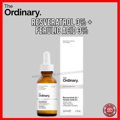 Foto Produk The Ordinary Resveratrol 3% + Ferulic Acid 3% Serum Full Size 30ml Ori dari Avaron Store