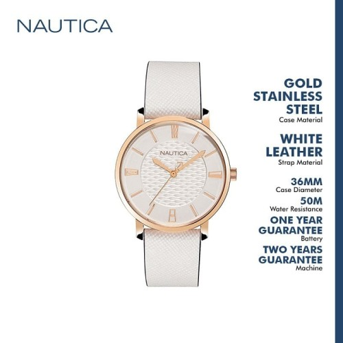 Foto Produk Nautica jam tangan wanita Coral Gables NAPCGP906 Putih dari Gilang Agung