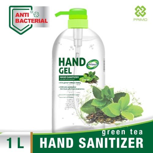 Foto Produk PRIMO HAND GEL 1 L PUMP Green Tea - Hand Sanitizer dari Primo Official Store