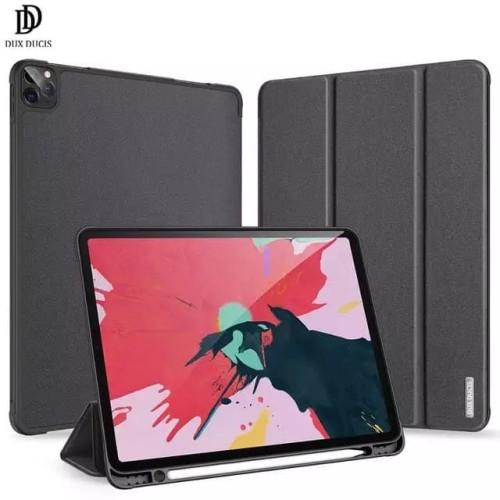 Foto Produk Flip Case Ipad Pro 2020 11 Inch / 12,9 Inch Dux Ducis Domo Series - Hitam, Ipad 12.9 Inch dari factory acc