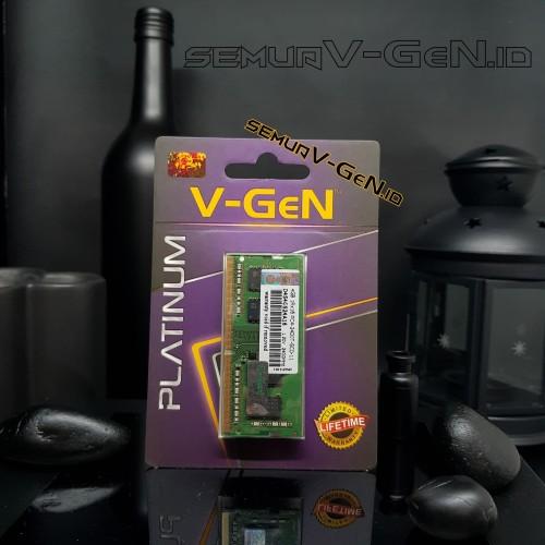 Foto Produk SODIMM DDR4 4GB PC-19200/2400 Mhz RAM Laptop/Notebook V-GeN PLATINUM - RESCUE dari Semua V-GeN