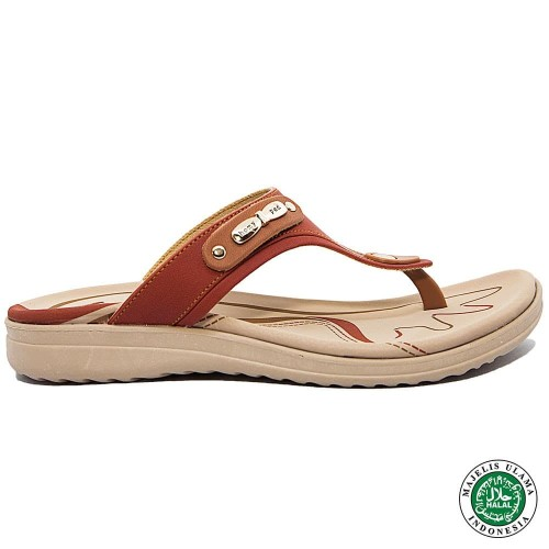 Foto Produk Homyped Letizia N32 Sandal Wanita Oranye/Bata - 36 dari Homyped Official