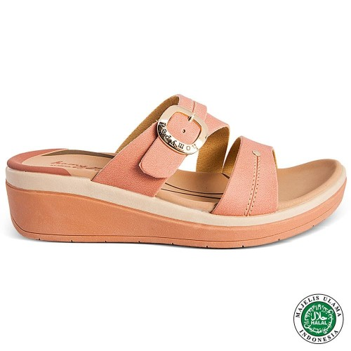 Foto Produk Homyped Vandela N52 Sandal Wadges Ceri - 39 dari Homyped Official