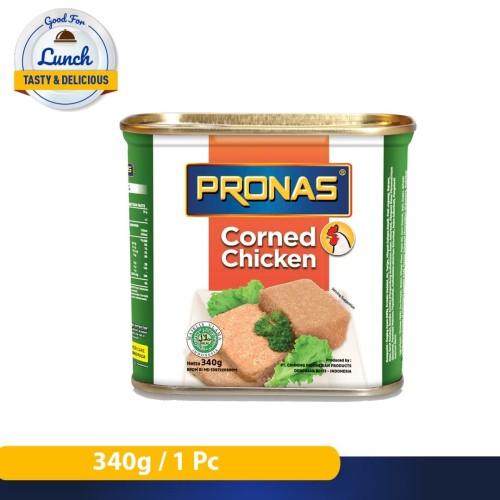 Foto Produk Pronas Kornet Ayam 340 g dengan Kemasan EOE dari Pronas Official Store
