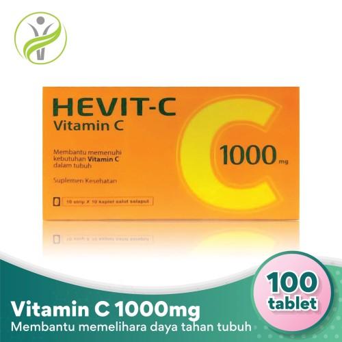 Foto Produk Hevit-C Vitamin C 1000 mg - Membantu Penuhi Kebutuhan Vitamin C Tubuh dari Sahabat Kesehatan