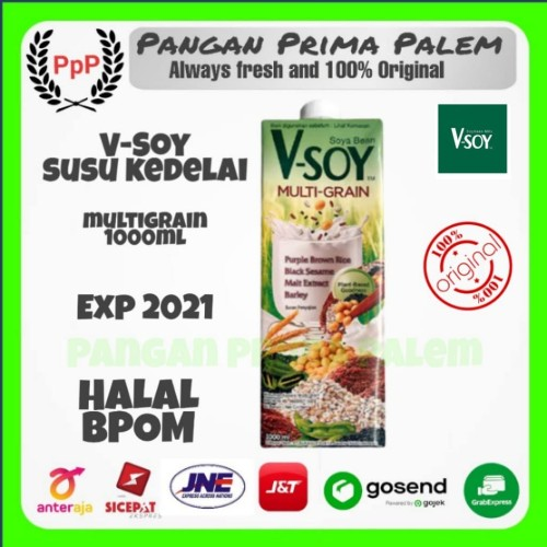 Foto Produk Vsoy Multi grain 1L dari Pangan Prima Palem