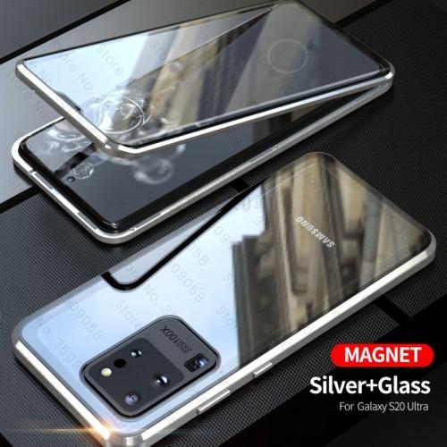 Foto Produk Case Samsung S20 S20 Plus casing magnetic full cover 360 DepanBelakang - SAM S20 PLUS, Hitam dari arterycircle