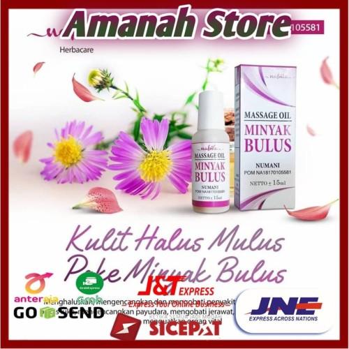 Foto Produk MINYAK BULUS NUMANI MASSAGE OIL15 ML dari Amanah HerbalStore
