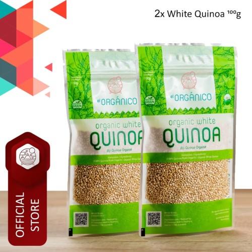 Foto Produk White Quinoa Organic EL Organico 100gr (Double Pack) dari ELorganico