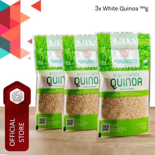 Foto Produk White Quinoa Organic EL Organico 100gr (Triple Pack) dari ELorganico