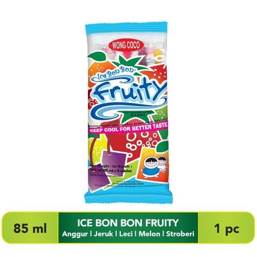 Foto Produk Wong Coco Ice bon Bon Fruity isi 5 dari Wong Coco