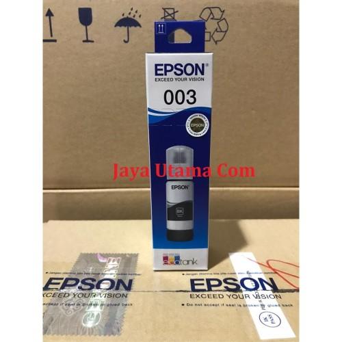 Foto Produk Tinta Epson 003 Black Original dari Jaya Utama Com