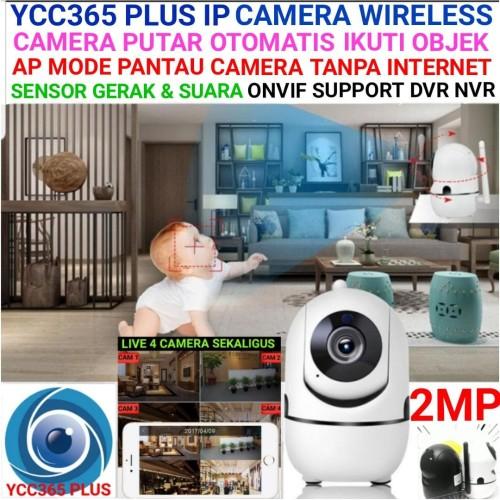 Foto Produk YCC365 Ip Camera Mini Wireless ONVIF Xiaomi Yi dome Killer - Putih dari Techno Cam