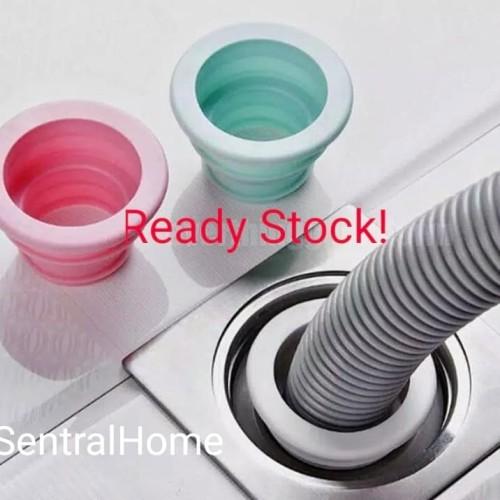 Foto Produk Sewer Pipe Seal Pool Floor Drain Sealing Plug Water Trap Pest Silicone dari SentralHome