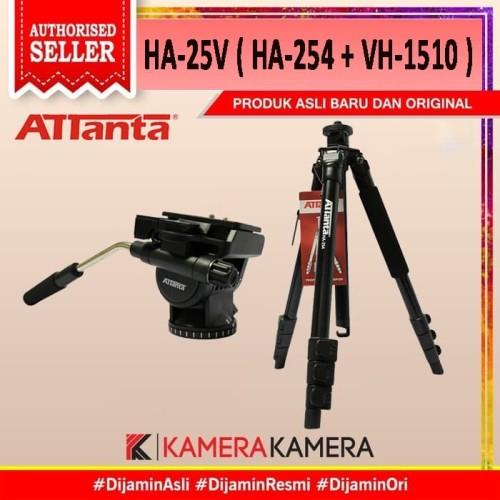 Foto Produk TRIPOD ATTANTA HA-25V ( HA-254 + VH-1510 ) dari kamerakamera