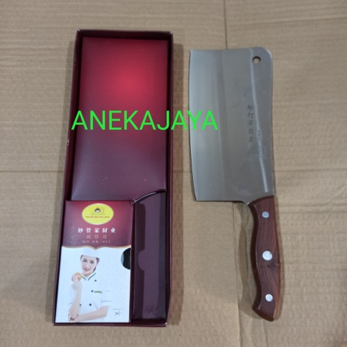 Foto Produk Golok daging tajam gagang kayu Korea 32 cm dari anekajaya078