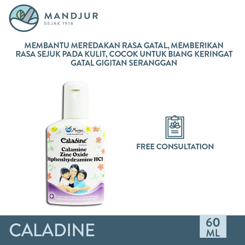 Foto Produk Caladine Lotion - Meredakan Kulit Gatal Alergi dan Biang Keringat dari mandjur