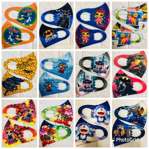 Foto Produk Masker Kain Scuba Anak-Anak dari Replayz E-Store