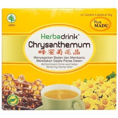 Foto Produk HERBADRINK CHRYSANTHEMUM Serbuk 18 gram 5 s dari W2FitHealthy
