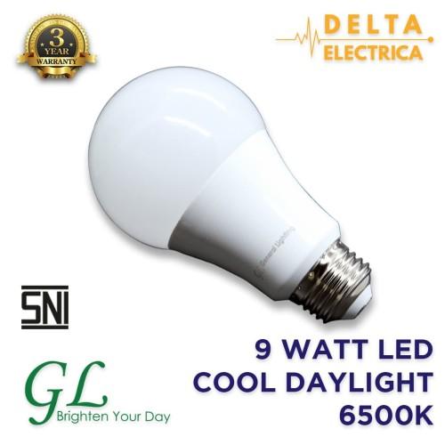 Foto Produk 9 Watt Bohlam LED General Lighting Cool Daylight 6500K dari Delta Electrica