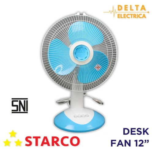 Foto Produk Starco Desk Fan 12 inci – Kipas Angin Meja SCD-1201A dari Delta Electrica