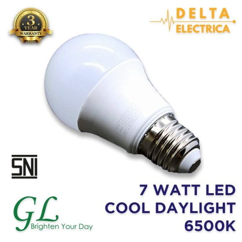 Foto Produk 7 Watt Bohlam LED General Lighting Cool Daylight 6500K dari Delta Electrica