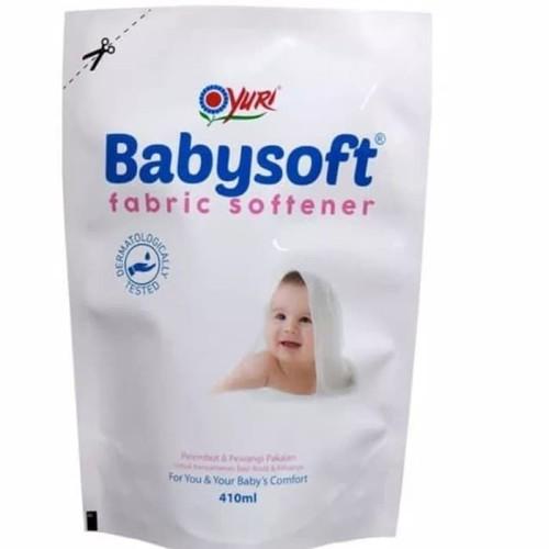 Foto Produk YURI Babysoft Fabric Softener 410 ml dari BEBIBURP