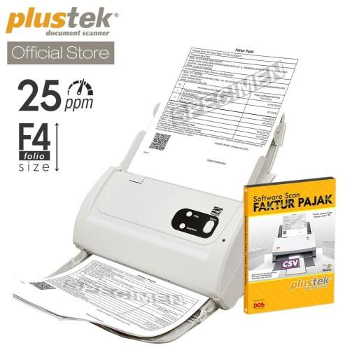 Foto Produk Scanner Plustek Faktur Pajak PS283 - 25 Lembar/menit (F4/Folio) dari Plustek Indonesia