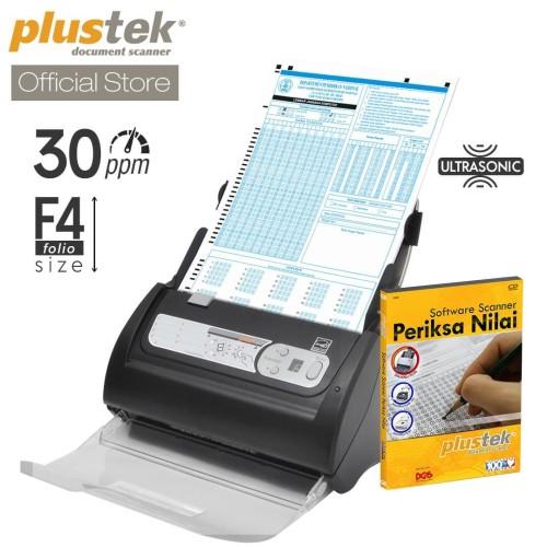 Foto Produk Scanner Plustek Periksa Nilai LJK PS3060U - 30 lembar/menit (F4/Folio) dari Plustek Indonesia