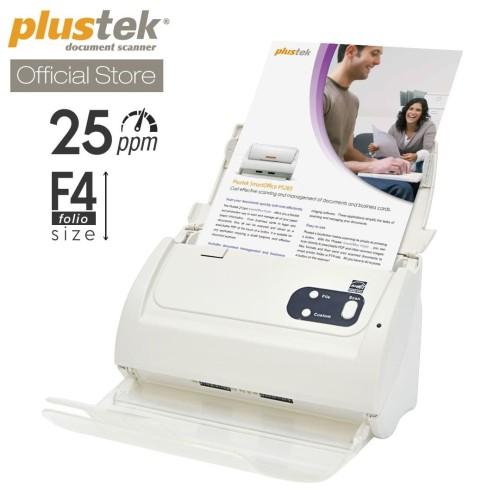 Foto Produk Scanner Plustek SmartOffice PS283 - 25 Lembar/menit (F4/Folio) dari Scanner Plustek