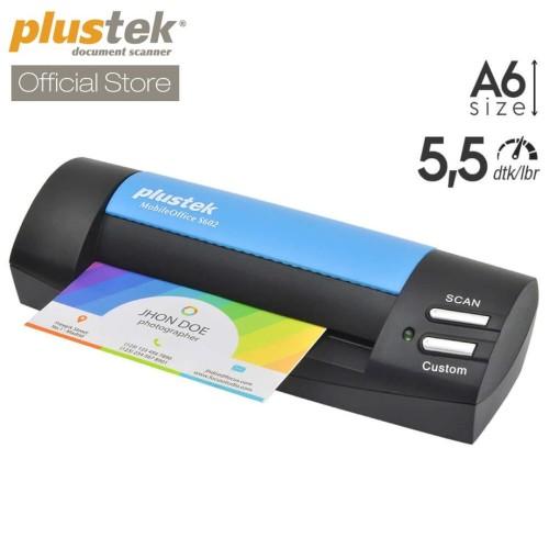 Foto Produk Scanner Plustek MobileOffice S602 - 5.5 Detik/lembar (A6) dari Scanner Plustek