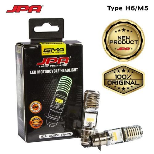 Foto Produk Lampu Utama Led Motor Matic dan Bebek H6-Kaki 1 tanpa ubah kelistrikan dari GMA Product Series