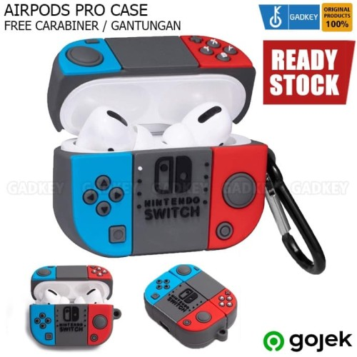 Foto Produk Case Airpods Pro 3 2019 Nintendo Switch Casing Cover dari Gadkey Official