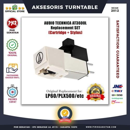 Foto Produk [CARTRIDGE+STYLUS] AUDIO TECHNICA ATN3600L For Turntable[JARUM/NEEDLE] dari PHR Senayan