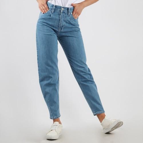 Foto Produk Edwin Ladies Slouchy Boyfriend Jeans Chloe 01 - Biru, 28 dari Edwin Jeans