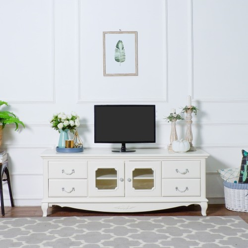Foto Produk The Olive House Queen Anne TV Cabinet / Meja TV dari The Olive House