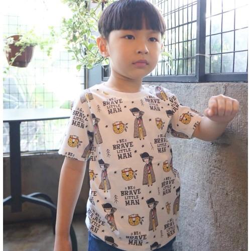 Foto Produk Kaos Anak - Anak | Little Brave Man - L089 - SMALL dari Little Jergio