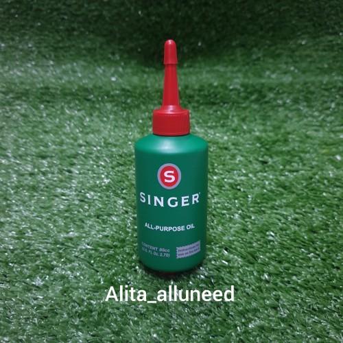 Foto Produk Minyak Pelumas Merek SINGER All-Purpose Oil dari Alita_alluneed