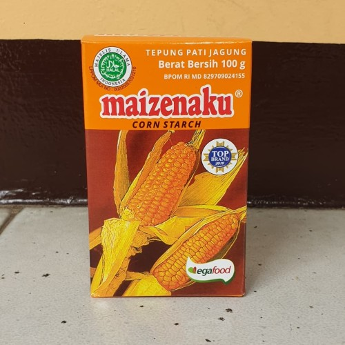Foto Produk [satuan] Tepung Maizena Corn Starch MAIZENAKU 100 gram / 100gr dari Aimee Bag & Plush Toys