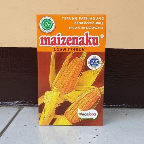 Foto Produk [satuan] Tepung Maizena Corn Starch MAIZENAKU 300 gram / 100gr dari Aimee Bag & Plush Toys