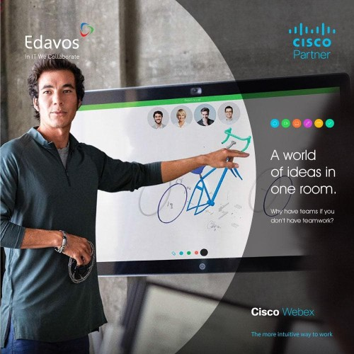 Foto Produk Software Video Conference - Cisco Webex Meetings dari PT. Edavos
